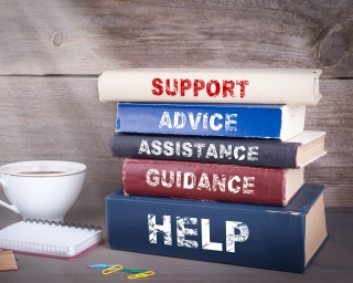 Books titled help and support